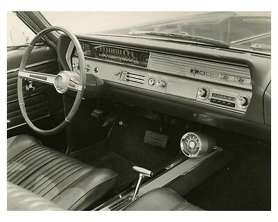 1965 Oldsmobile Interior Automobile Factory Photo ch7946