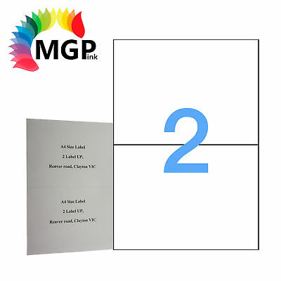 100 Sheets 2 Labels Per Page 200 Labels 199.6×143.5mm A4 Office Mailing Labels