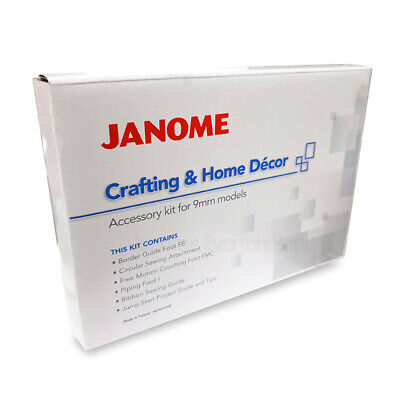 Janome Crafting & Home Decor Kit - Patchwork Quilting Couching Skyline S5 MC 9mm