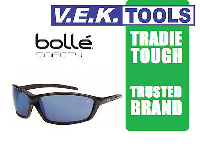 BOLLE PROWLER TRADESMANS SAFETY SUN GLASSES-BLUE-Market Leader-ORIGINAL