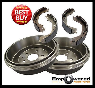 Toyota Hilux 4WD GGN25 KUN26 4/2005 onwards REAR BRAKE DRUMS + SHOES RDA6795