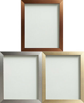 Frame Company Copper, Gold or Silver Picture Photo Frames Fitted With Glass