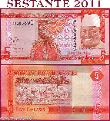 GAMBIA  -   5  DALASIS nd 2015  -   P 31   -  FDS / UNC