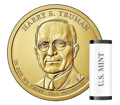 USA: 1 dolar 2015 D - 33 º Presidente HARRY S. TRUMAN  - 1$ USA