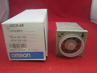 Omron Timer H3CR-A8 0-1.2 min new
