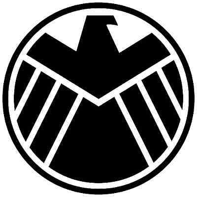 Avengers Marvel Agents of SHIELD Vinyl Decal - Car Window Sticker Comics Oracal