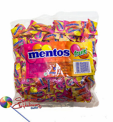 MENTOS - Fruit Chews - 200 pieces - Conference/Expo Sweets