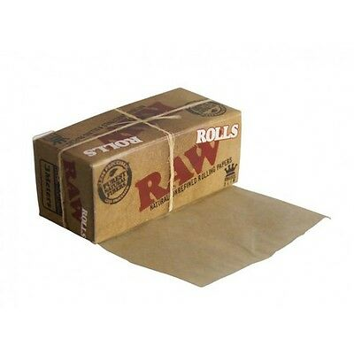 Raw Rolls Classic 3m BROWN organic Rolling Paper (sample/1/2/6/12/24)pcs