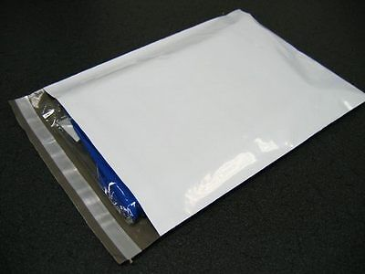 High Quality 1000 Pc 12x15.5 WHITE POLY MAILER ENVELOPE BAGS 2.0 Mil New