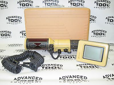 Topcon TrackerJack 9220 w/ Touch Control Panel 9166 & Coil Cable 9060 & Case