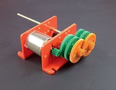 Multi Ratio motor gearbox 917d kit form models 1.5 - 3 volt school project robot