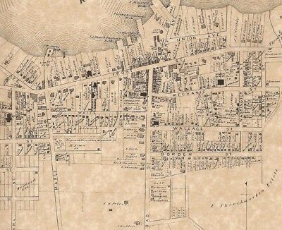 Red Bank Shrewsbury Monmouth NJ 1873 Maps with Homeowners Names Shown