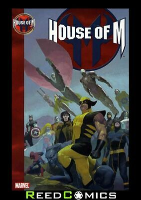 HOUSE OF M GRAPHIC NOVEL New Paperback Collects Issues #1-8 and Pulse Special