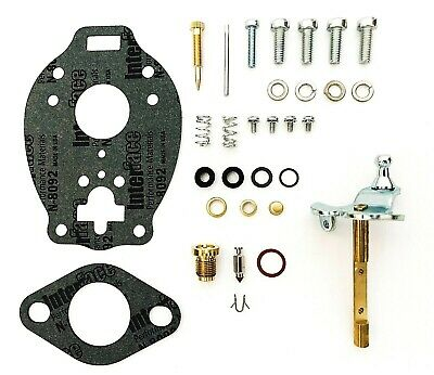 Ford Tractor Carburetor Repair Kit with Shaft Fits 9N 2N 8N