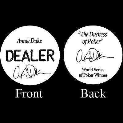 Annie Duke Professional Collectors 2 Inch Dealer Button