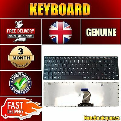 Brand New For IBM Lenovo G580 2689 Laptop Notebook Keyboard Black UK Layout
