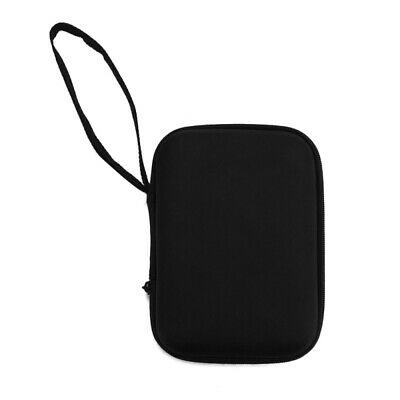 """Black Hard Carry Bag Case Cover for 2.5"""" HDD Hard Disk Drive 3.5"""" 4.8"""" GPS be6e"""