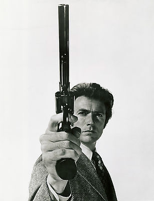 A3 Dirty Harry 1 / Clint Eastwood Poster Art Print Buy2Get1Free!
