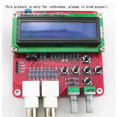 DDS Function Signal Generator Sine Square Sawtooth Triangle Wave DIY Kits US