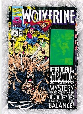 WOLVERINE #75 COVER B-4 2011 Upper Deck Marvel Beginnings I CARD