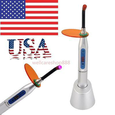 Dentistry Dental 5W Wireless Cordless LED Curing Light Lamp 1500mw USA SHIPPING