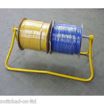 CABLE REEL CARRIER AND STAND, DE REELING STAND,DISPENSER  free p&p