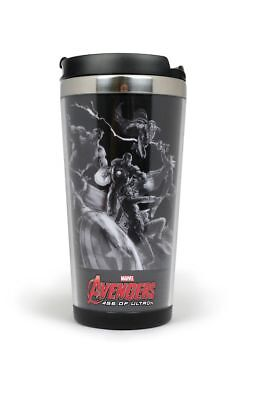 Avengers Age of Ultron Thermobecher Attack Coffe to Go Captain America Thor Hulk