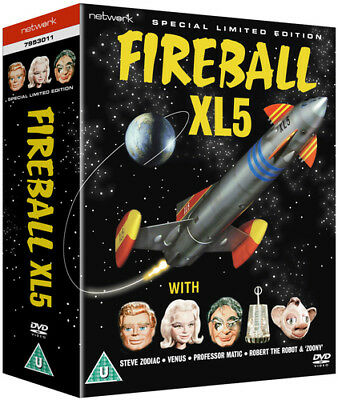 Fireball XL5: The Complete Series DVD (2013) Gerry Anderson ***NEW***