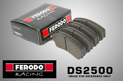 Ferodo DS2500 Racing For Fiat Tipo 1.4 Front Brake Pads (88-93 LUCAS ABS) Rally