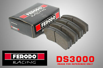 Ferodo DS3000 Racing For Vauxhall Astramax 1.6 D Front Brake Pads (85-91 GM) Ral