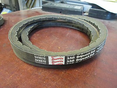 Browning Gripnotch Belt 5VX670 New Surplus