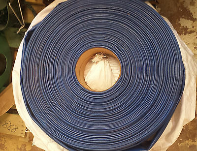 "3"" x 300ft CONTINENTAL SPIRAFLEX BLUE PVC WATER DISCHARGE HOSE TRASH PUMP 55 PSI"