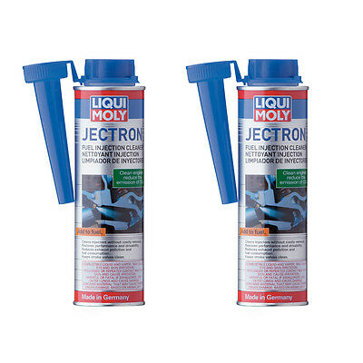 Set of 2 Liqui Moly JECTRON Fuel Injection Cleaner 300ml - Gasoline Additive
