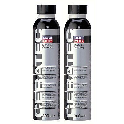 Set of 2 Ceramic Wear Engine Protection High-Tech - Liqui Moly Cera Tec 300ml