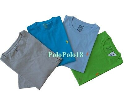 New Polo Ralph Lauren Pony Crewneck T Shirt S M L XL 2XL