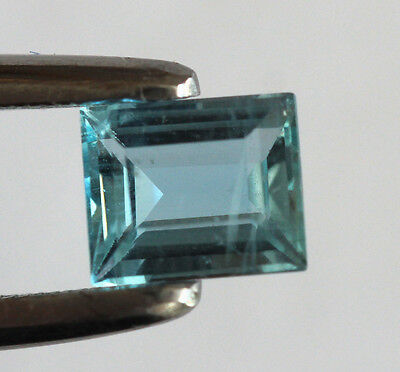 0,65 ct Aigue Marine de Santa Maria Brésil - Top Qualité AAAA