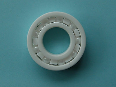 1pc Full Complement Ceramic ZrO2 Ball Bearing Bearing 602 to 609