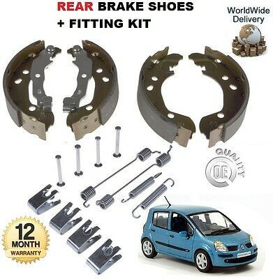 For Renault Modus Mpv 1.2 1.4 1.5 1.6 2004-->On Rear Brake Shoes & Fitting Kit