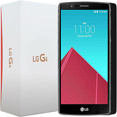 Bnib Lg G4 H815 32Gb Black Leather Factory Unlocked 4G/lte 3G 2G Gsm Simfree New