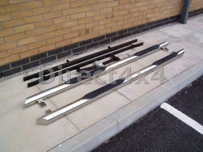 VW T5 T6 Swb Transporter Van Caravelle Side Bars And Steps Exterior Sus304 S/S