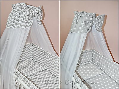 CANOPY DRAPE - 300 x166cm for BABY Cot (120x60cm)Cot Bed (140x70cm) CANOPY ONLY