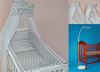 BABY/COT/COT BED/COTBED BIG CANOPY DRAPE/300cm Wide+Free Floor Stand Pole/Holder