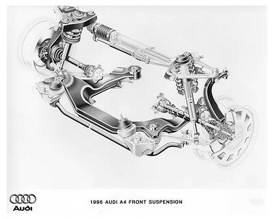 1996 Audi A4 Front Suspension Automobile Photo Poster zch7638