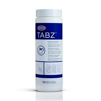 Urnex TABZ F61 Coffee Machine Equipment Cleaning Tablets 120 4g