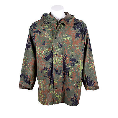 Goretex Jacket Parka Waterproof Flecktarn Camo Genuine German Army Issued M-XXL