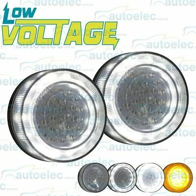 Led Front Indicator Park & Drl Clear Amber Light Lamp Suit Toyota Hilux  Lv0375