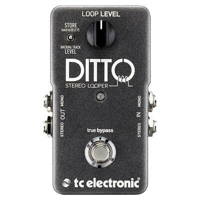 NEW! TC Electronic Ditto Stereo Looper with Stereo I/O and Backing Track