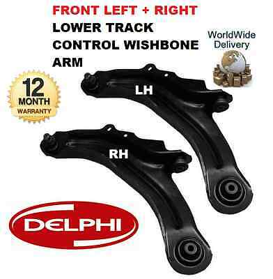 For Renault Scenic Ii 03--> Front Right + Left Lower Track Control Wishbone Arms