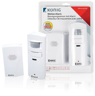 Konig Alarm with motion detector Shop Door Entry Chime/Bell Movement Sensor