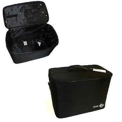 Head Jog Small Equipment Case in Black, Hairdressing, Salon Made by Hair Tools